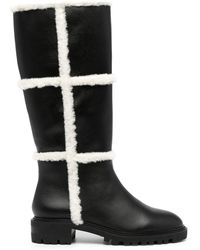 Senso Minnie ファーディテール ブーツ - ブラック
