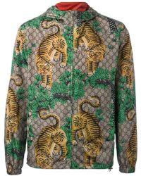 Gucci - Bengal Tiger Print Jacket - Lyst