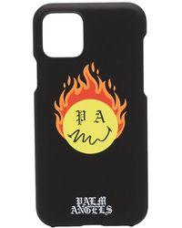 Palm Angels Чехол Burning Head Для Iphone 11 Pro - Черный