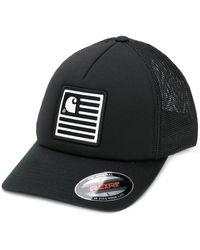 Carhartt WIP ロゴパッチ キャップ - ブラック
