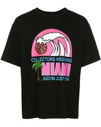 Just Don - Miami プリント Tシャツ - Lyst