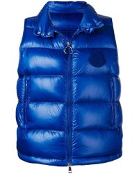 03c98e24a Moncler Padded Dog Coat in Black - Lyst
