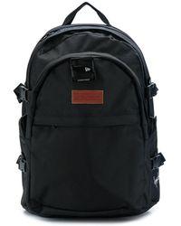 Yohji Yamamoto ロゴパッチ バックパック - ブラック
