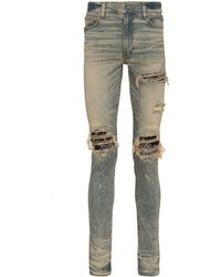 Amiri Mx1 Bandana Skinny Jeans - Blauw