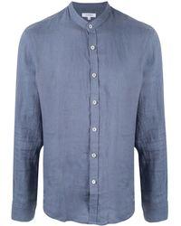 Venroy バンドカラー シャツ - ブルー