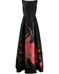 Talbot Runhof Bobbette ドレス - ブラック