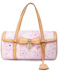 Louis Vuitton - Cherry Blossom Papillon bowling bag - Lyst