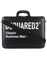 DSquared² Classic Business Man ビジネスバッグ - ブラック