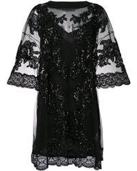 Amen - Embellished Tulle Dress - Lyst