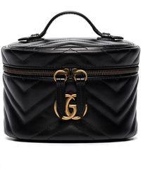 Gucci Маленькая Косметичка GG Marmont - Черный