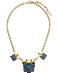 Rada' - Geometric Necklace - Lyst