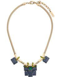 Rada' - Geometric Necklace - Lyst