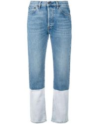 Ports 1961 - Bootcut Cropped Jeans - Lyst