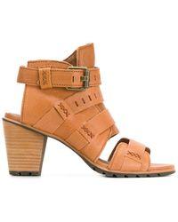 Sorel - Nadia Buckle Sandals - Lyst