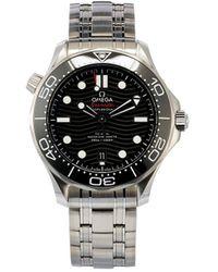 Omega Наручные Часы Seamaster Diver Co-axial Master Chronometer 42 Мм - Черный