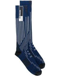 Prada - Colour-block Socks - Lyst