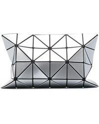 Issey Miyake Bolso de mano Lucent con estampado geométrico - Metálico