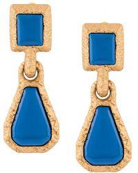 Marni - Bordered Drop Earrings - Lyst