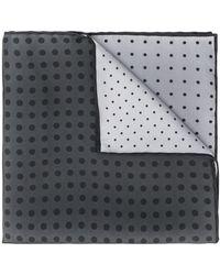 Lanvin Foulard imprimé - Noir