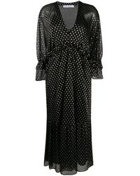 IRO Mawson エンブロイダリー ドレス - ブラック