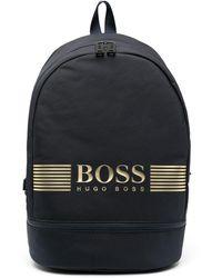 BOSS by Hugo Boss Рюкзак С Логотипом - Синий