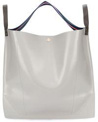 Sacai Oversized Tote Bag - Gray
