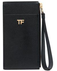 Tom Ford カードケース - ブラック