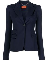 Altuzarra Button-front Blazer - Blue