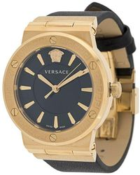 Versace 'Univers' Armbanduhr, 43mm - Schwarz