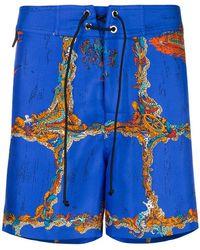 Emilio Pucci - Portofino Print Shorts - Lyst