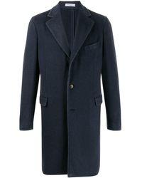 Boglioli カシミア シングルコート - ブルー