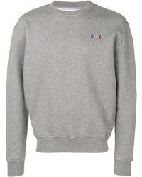 AMI Logo sweatshirt - Gris