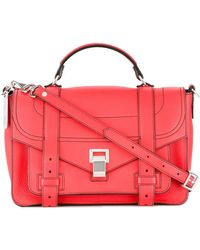 Proenza Schouler Ps1 Satchel - Red