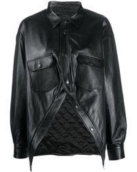 Balenciaga Swing Canadian シャツジャケット - ブラック