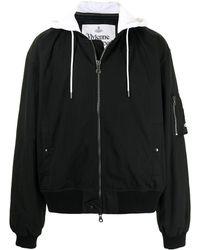 Vivienne Westwood フーデッド ジャケット - ブラック