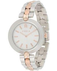 Furla Milano Two-tone Watch - Metallic