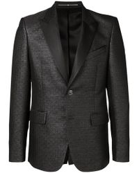Givenchy - 4g Pattern Suit Jacket - Lyst