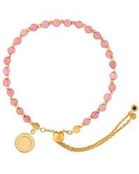 Astley Clarke Kula 18kt Gold Sapphire Bracelet - Roze