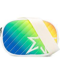 Perfect Moment Star Rainbow-print Belt Bag - White