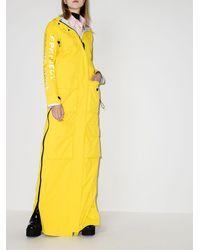 Y. Project Seaboard Long Raincoat - Yellow