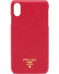 Prada - ロゴ Iphone Xs Max ケース - Lyst