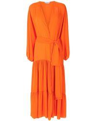 Olympiah Lourens Long Dress - Orange