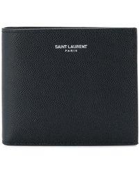 Saint Laurent Classic Portemonnee - Zwart