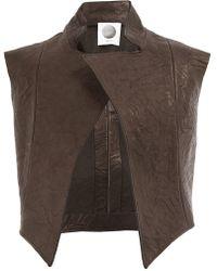 Aganovich - Asymmetric Waistcoat - Lyst