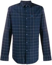BOSS - チェックシャツ - Lyst