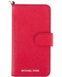 MICHAEL Michael Kors - Logo Plaque Iphone 7 Case - Lyst
