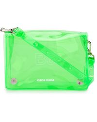 NANA-NANA B6 ミニバッグ - グリーン