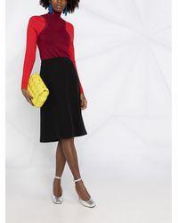 Nina Ricci Straight-cut Skirt - Black