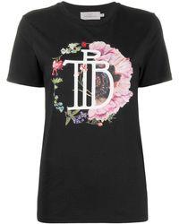 Preen By Thornton Bregazzi Kida クルーネック Tシャツ - ブラック