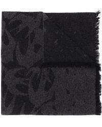 McQ ウーブン スカーフ - ブラック